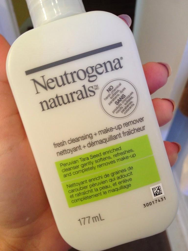 NEUTROGENA NATURALS Fresh Cleansing + Makeup Remover REVIEW - BIIBIIBEAUTY - BRONWYN PAPINEAU BLOG