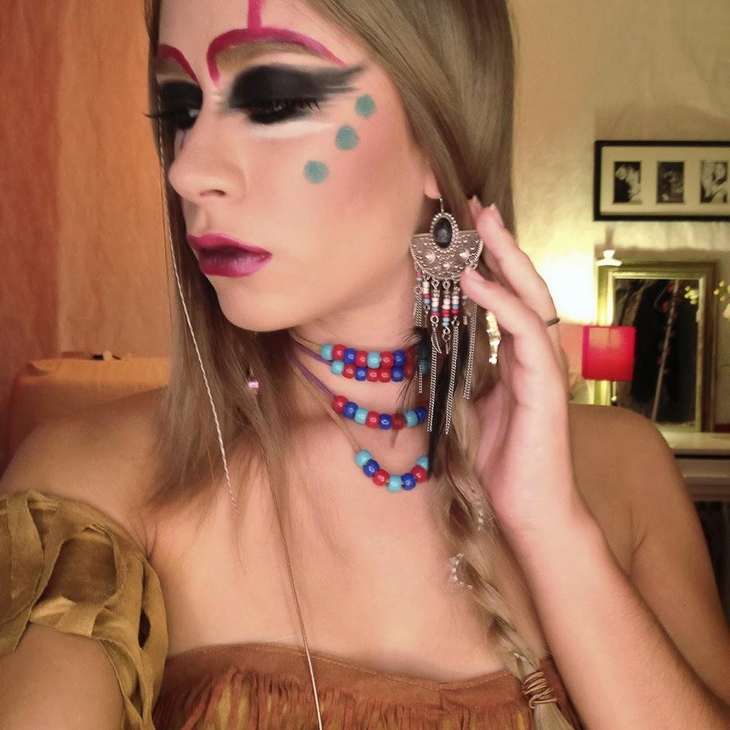 Native american makeup tutorial