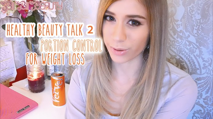HEALTHY BEAUTY TALK 2 LOSE WEIGHT THE EASY HEALTHY NATURAL WAY WITH PORTION CONTROL