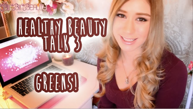 HEALTHY BEAUTY TALK 3 Greens and berries to keep thin and healthy!