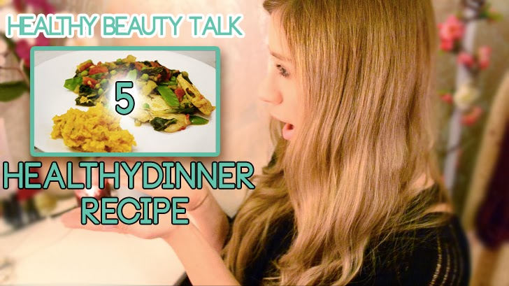 HEALTHY BEAUTY TALK 5: HEALTHY WEIGHT-LOSS RECIPE WHITE FISH AND GREENS