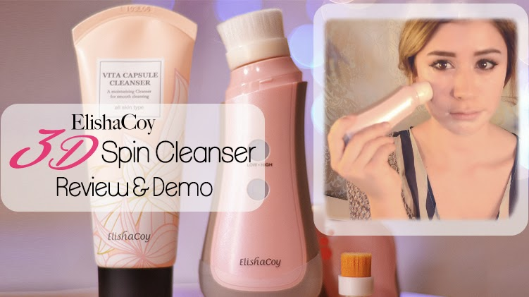 Get Rid of Acne with Elishacoy 3D Spin Cleanser | Wishtrend.com