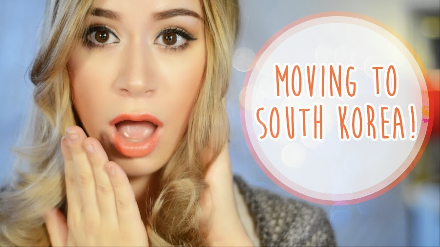 MOVING TO SOUTH KOREA!
