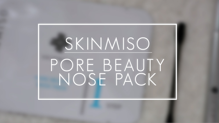 Review | Skinmiso Pore Beauty Nose Pack from Wishtrend.com