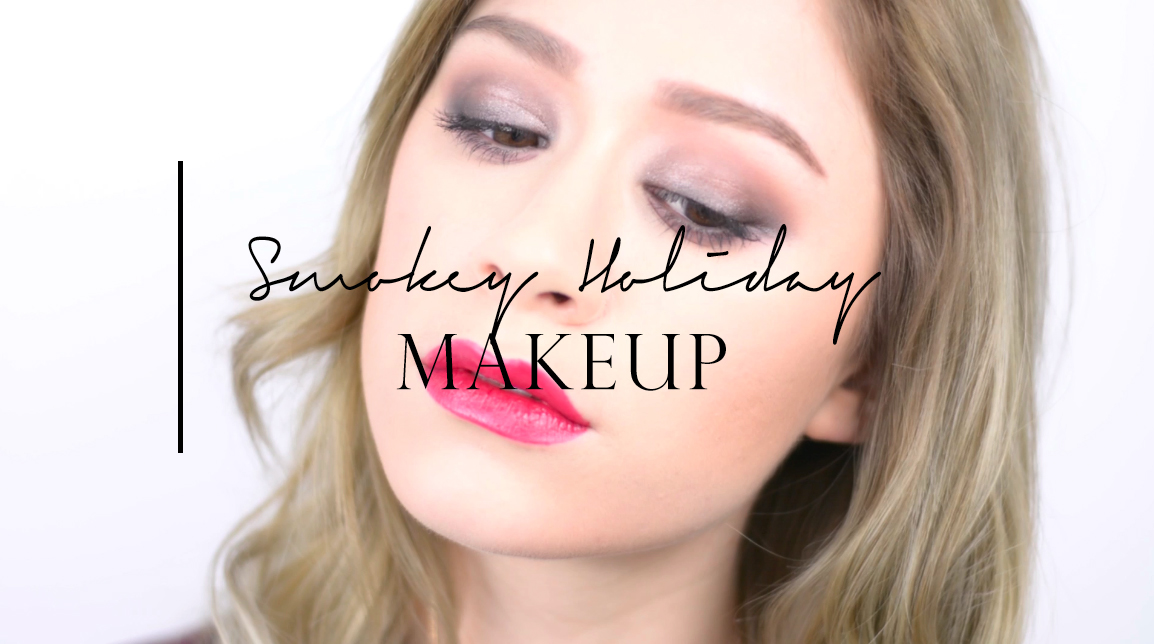 SMOKEY HOLIDAY MAKEUP | Korean Makeup