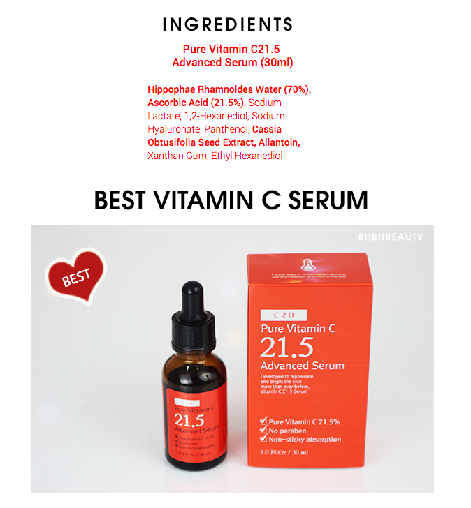 OST C 21.5 SERUM REVIEW | OST Pure Vitamin C 21.5 Advanced Serum