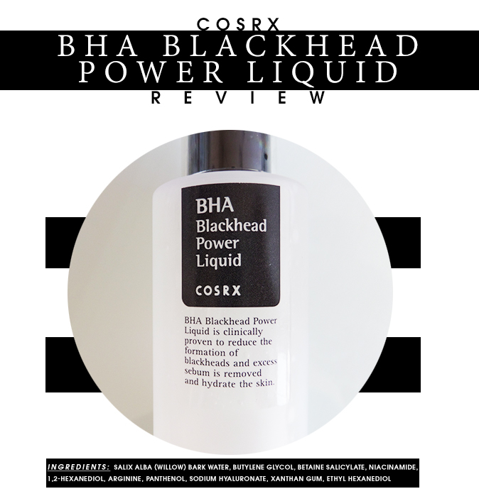 BHA Blackhead Power Liquid by cosrx #13