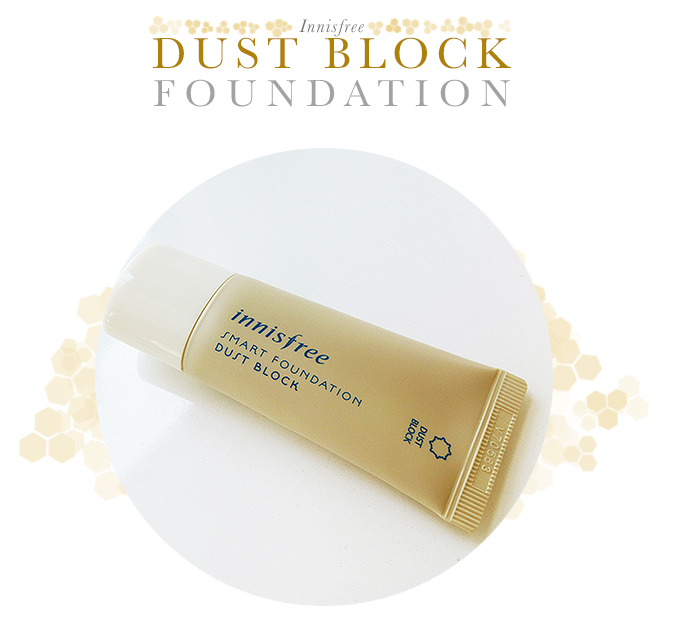 Innisfree Smart Foundation Dust Block Review