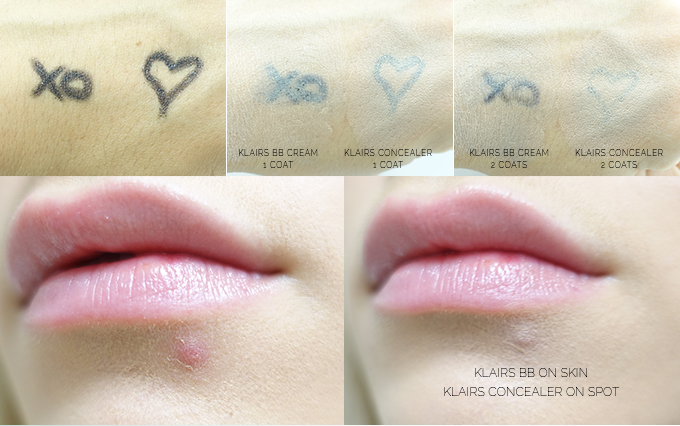 Klairs Illuminating Supple BB Cream Review & KLAIRS CREAMY & NATURAL FIT CONCEALER REVIEW