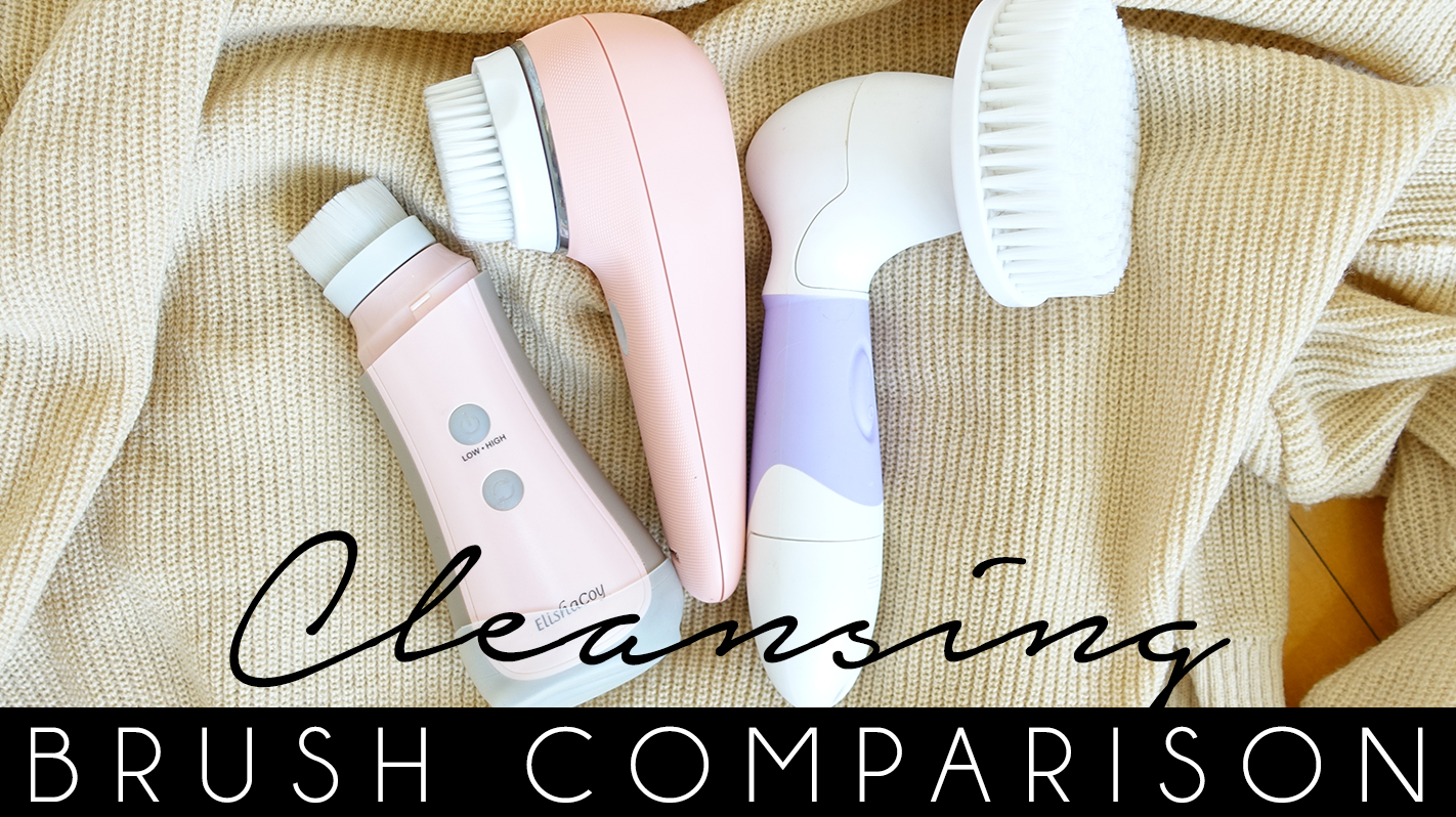 THE BEST CLEANSING BRUSH COMPARISON AND REVIEW