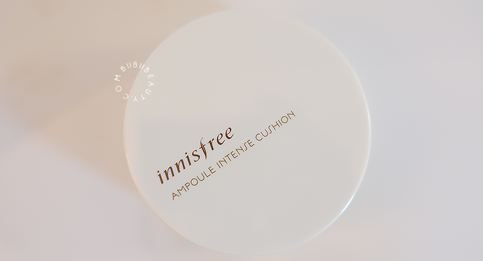 INNISFREE AMPOULE INTENSE CUSHION COVER REVIEW | The Best BB Cushion