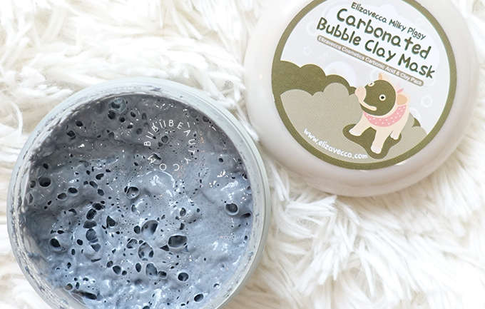 Elizavecca Milky Piggy Carbonated Bubble Clay Mask Review