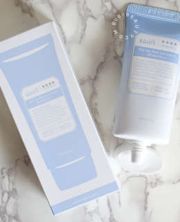 The Best Sunscreen For Sensitive Skin | Klairs Mid-Day Blue Sun Lotion Review
