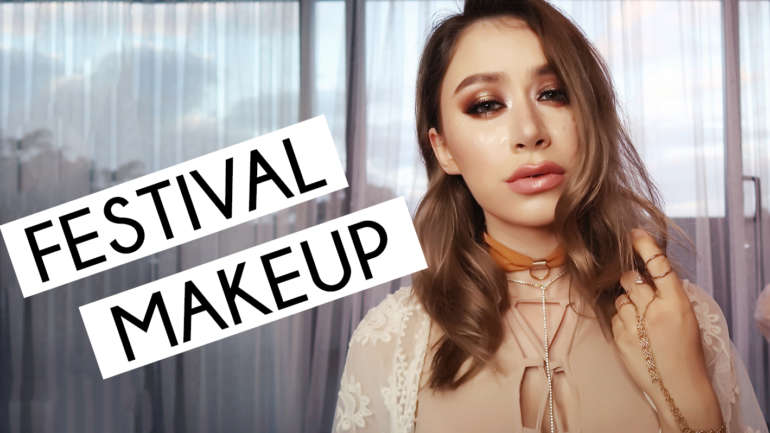 FESTIVAL MAKEUP TUTORIAL