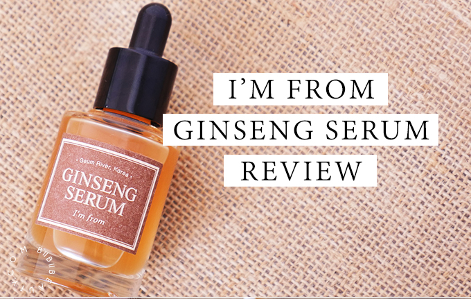 IM FROM GINSENG SERUM | Korean Skincare Review