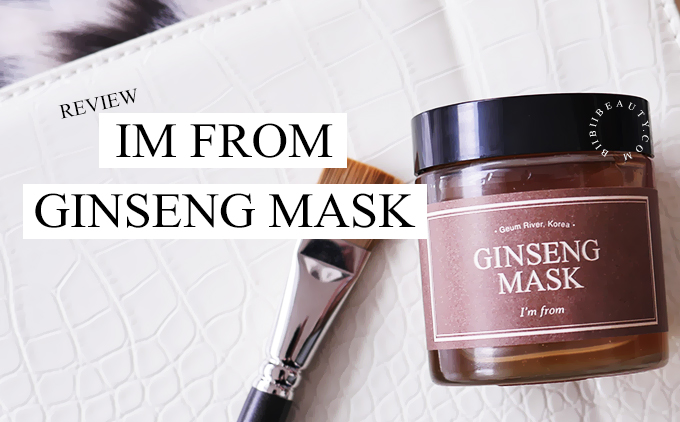 IM FROM GINSENG MASK REVIEW | Anti-Aging Massage Mask