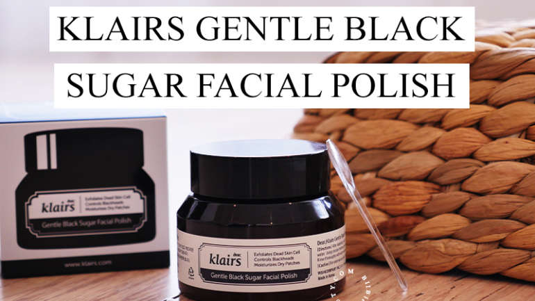 Sugar Scrub Holy Grail | Klairs Black Sugar Facial Polish Review