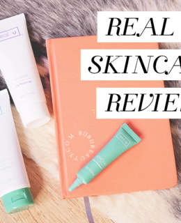 REAL U SKINCARE REVIEW | A MUST KNOW ACNE TREATMENT BIIBIIBEAUTY BRONWYN PAPINEAU