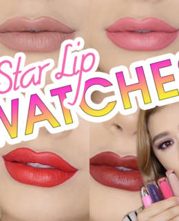 JEFFREE STAR VELOUR LIQUID LIPSTICK SWATCHES | Reviews & Demos