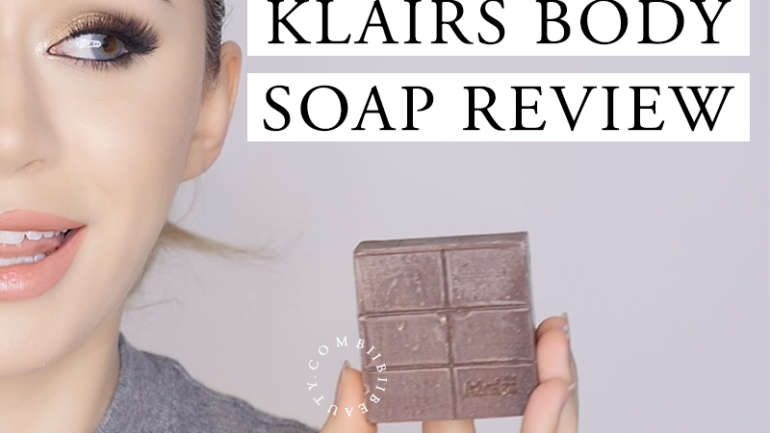 KLAIRS BODY SOAP REVIEW | Manuka Honey & Cocoa AHA Soap for Body Acne?!