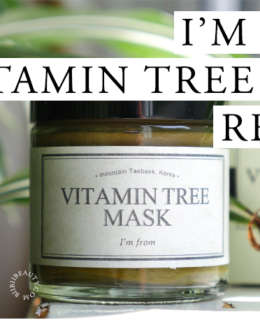 I'M FROM Vitamin Tree Mask Review | Vitamins for skin