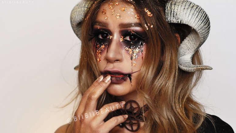 HALLOWEEN MAKEUP IDEAS | Soul Eater Makeup