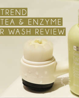BY WISHTREND GREEN TEA ENZYME POWDER WASH REVIEW BIIBIIBEAUTY