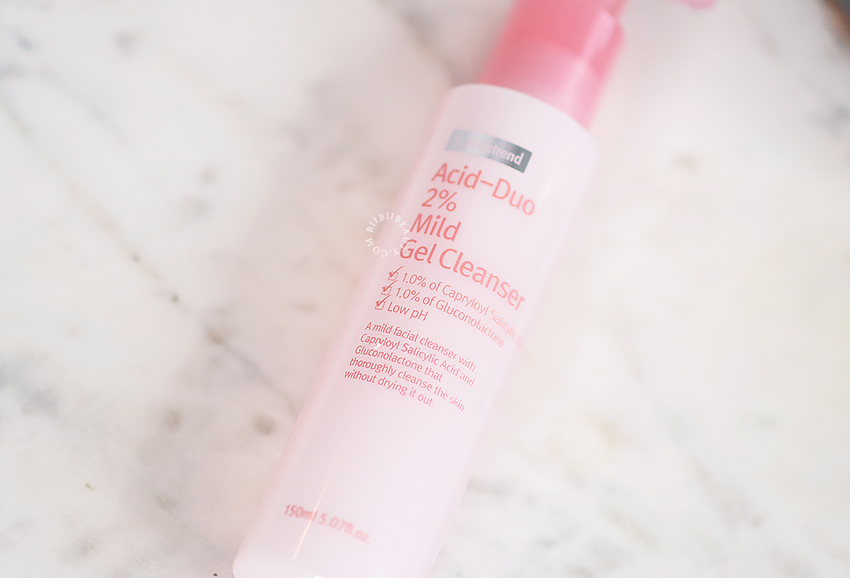 Acid Cleansing? By Wishtrend Acid-Duo 2% Mild Gel Cleanser Review